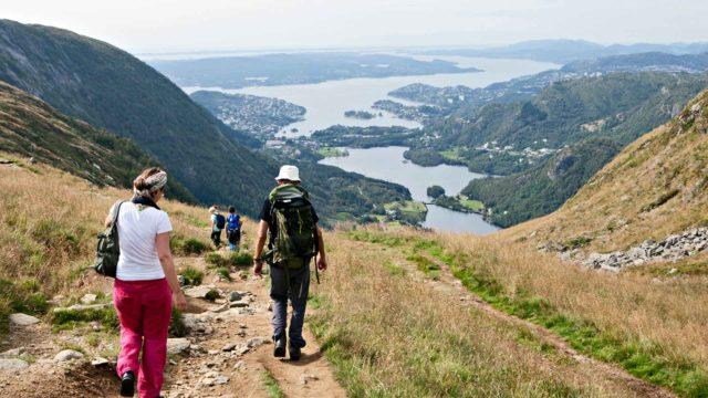 Bergenin vuoristoreitit
