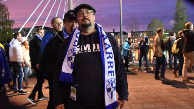 Suomen jalkapallomaajoukkueen kannattajien puheenjohtaja Jussi Hartikainen uskoo suuren unelman toteutuvan.