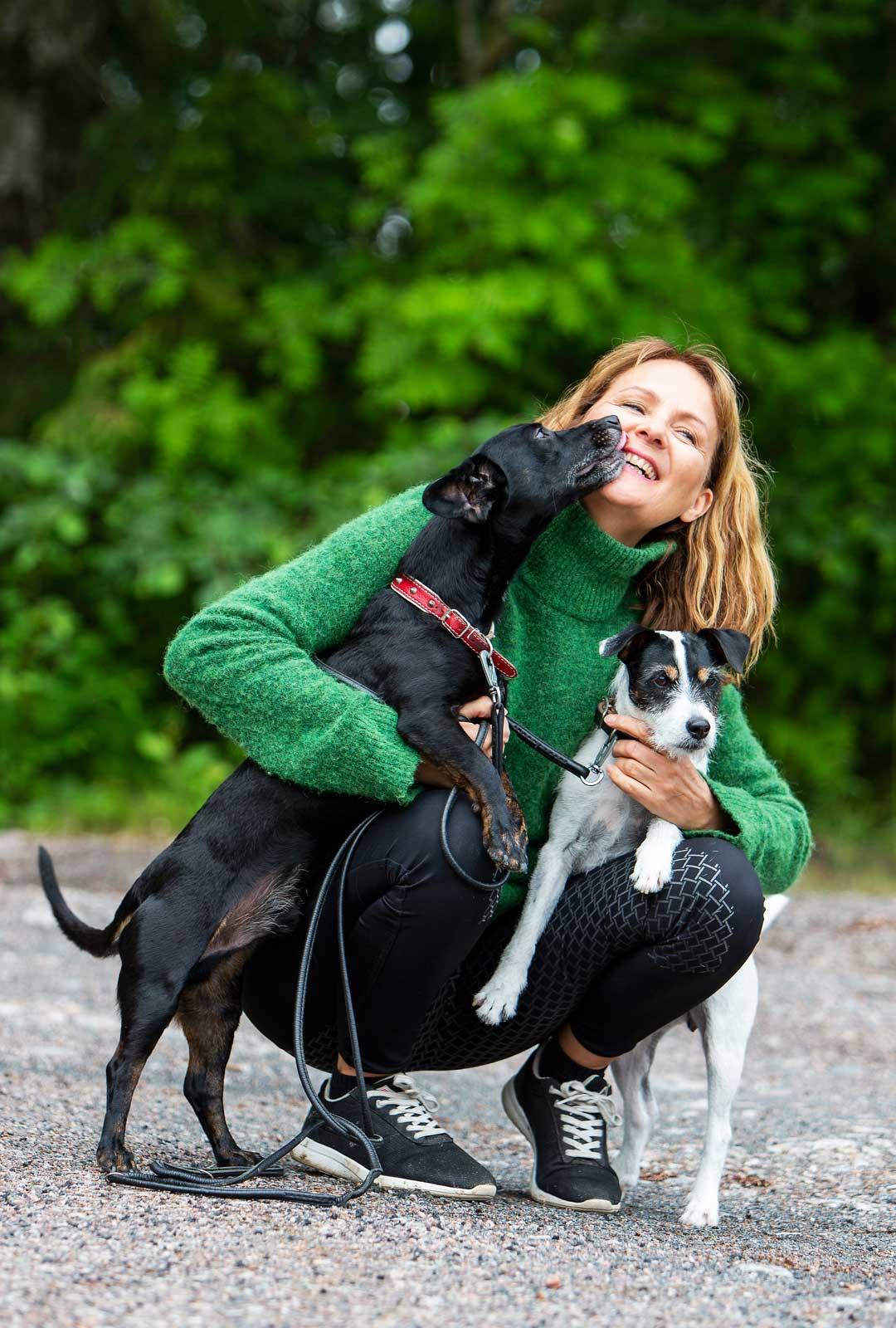 Hyppe Salmi ja koirat