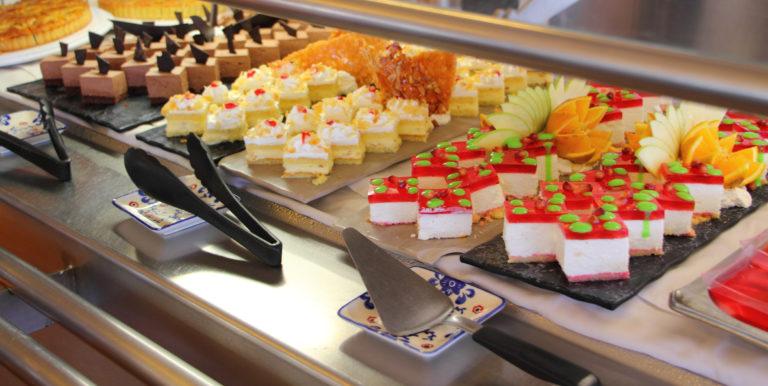Risteilybuffetissa syöminen voi olla ekoteko