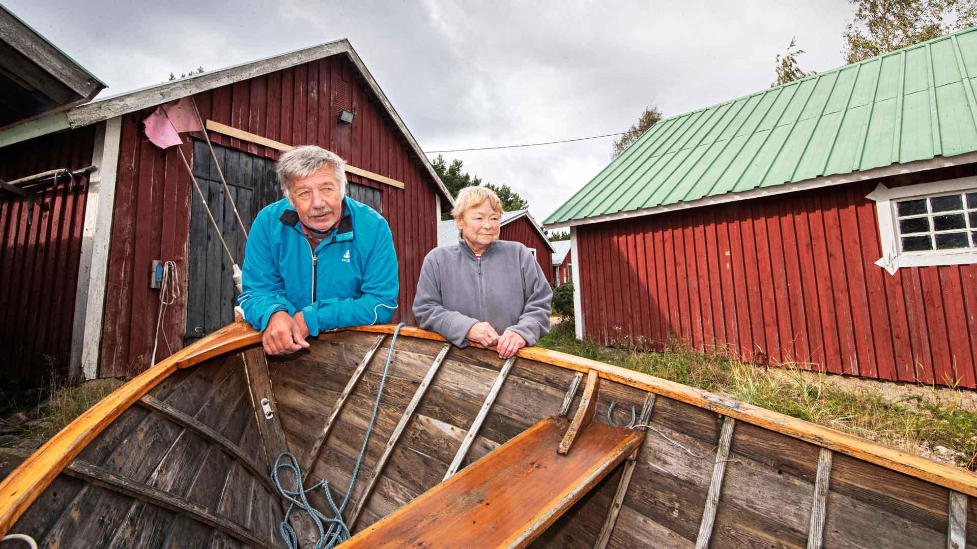 Paula ja Esa Hedin