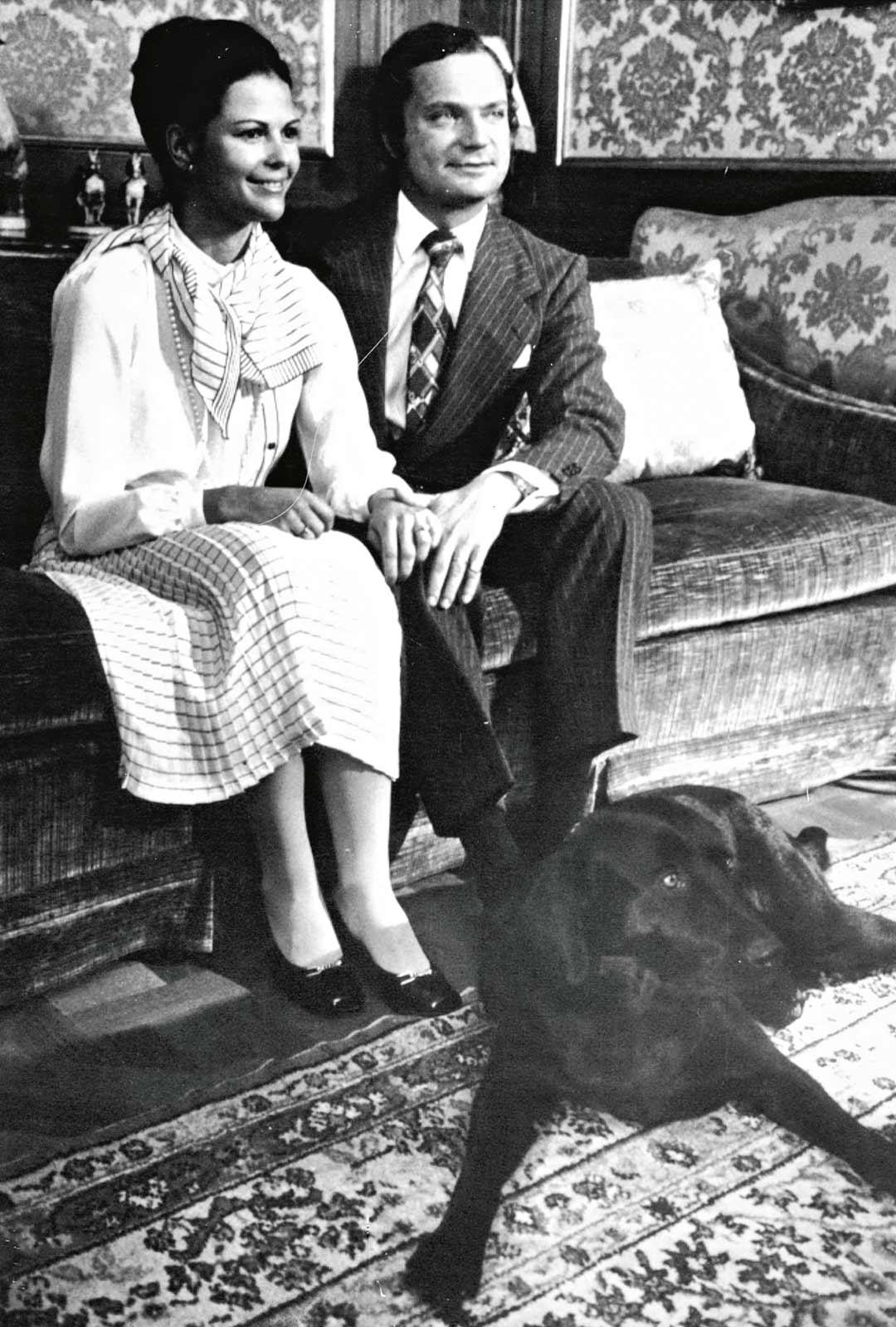 Kuningas Kaarle Kustaa ja Silvia Sommerlath