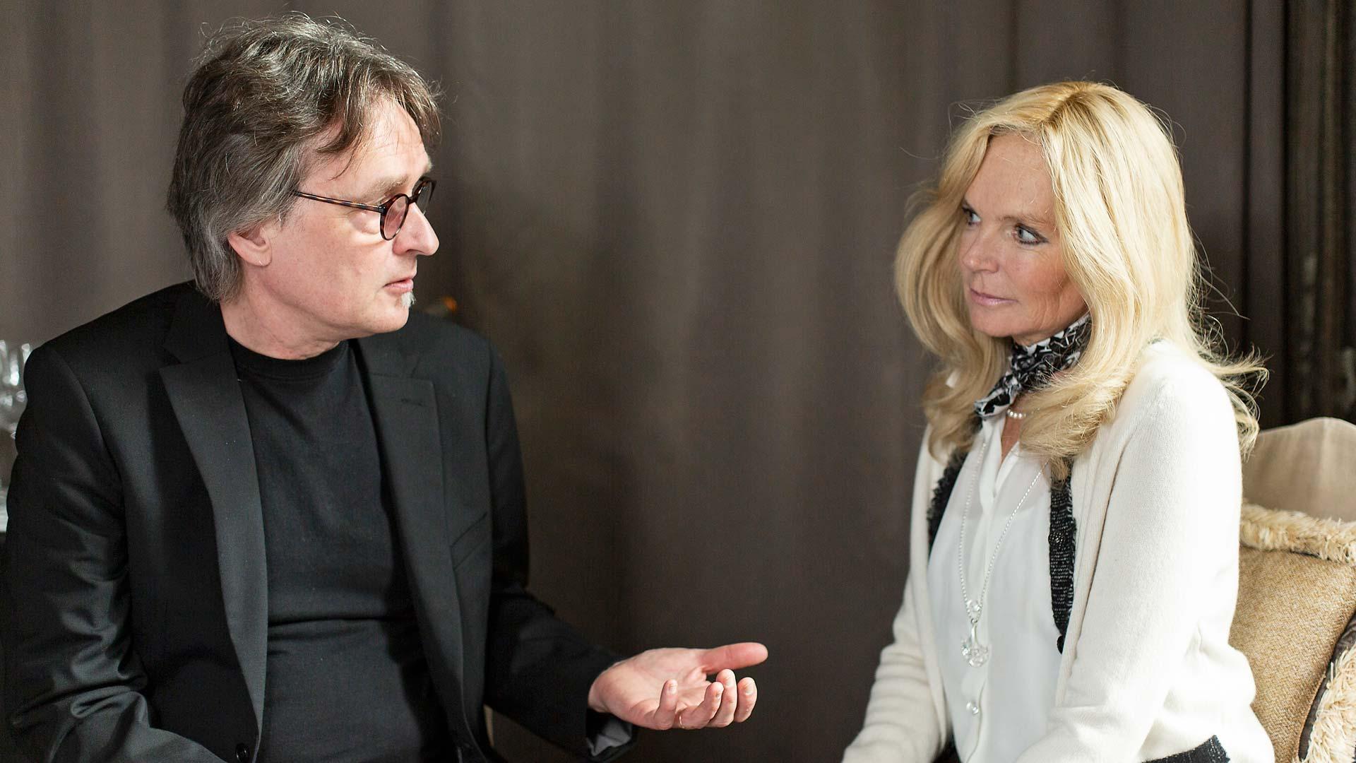Kimmo Rantanen ja Lucinda Riley