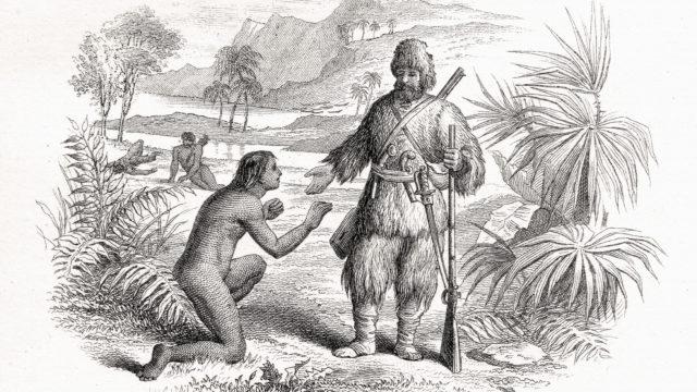 Robinson Crusoe ja Perjantai