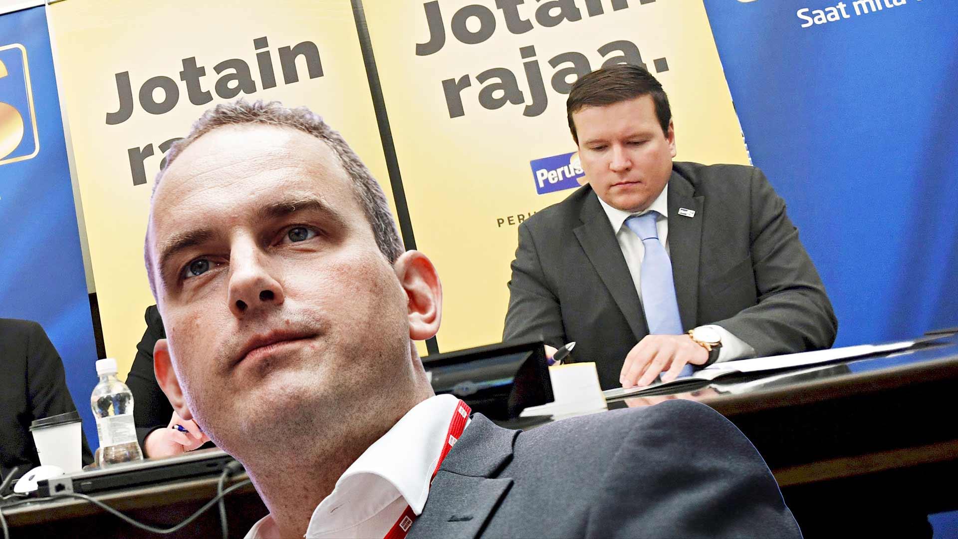 Ville Tavio ja Jani Mäkelä