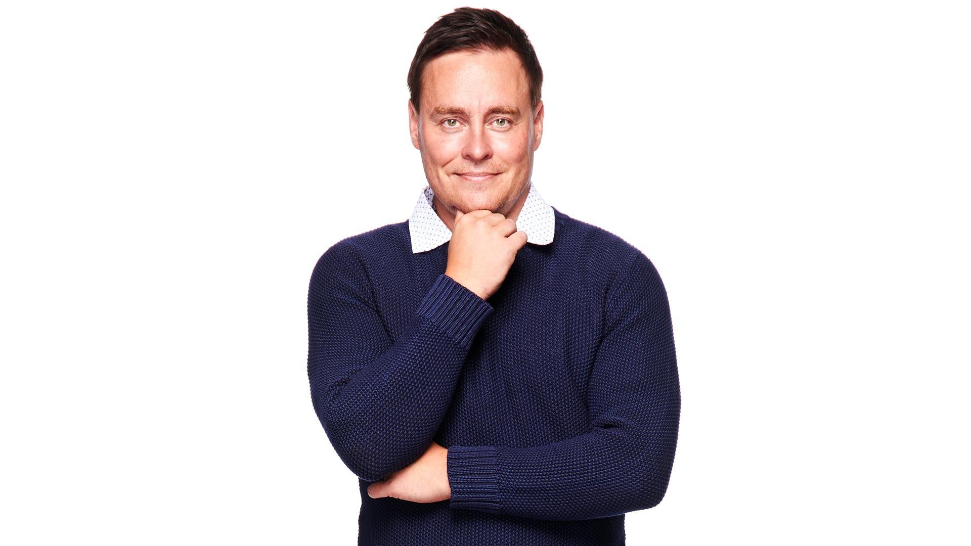 Päätoimittaja Erkki Meriluoto.