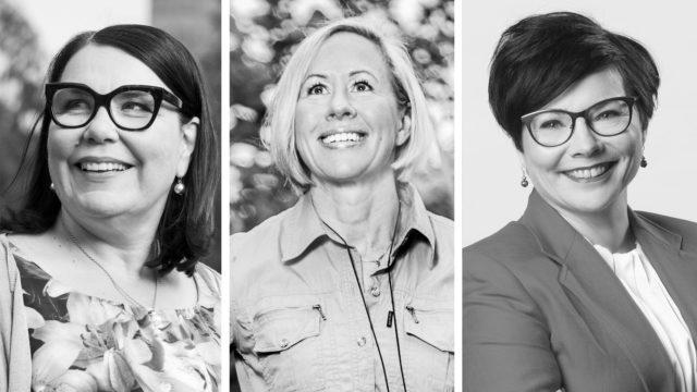 Johtajanaiset-kirjassa kuusi suomalaista huippujohtajaa kertovat avoimesti urastaan, valinnoistaan, pettymyksistään, raskaiden aikojen sietämisestä sekä uran ja perheen ristipaineista.