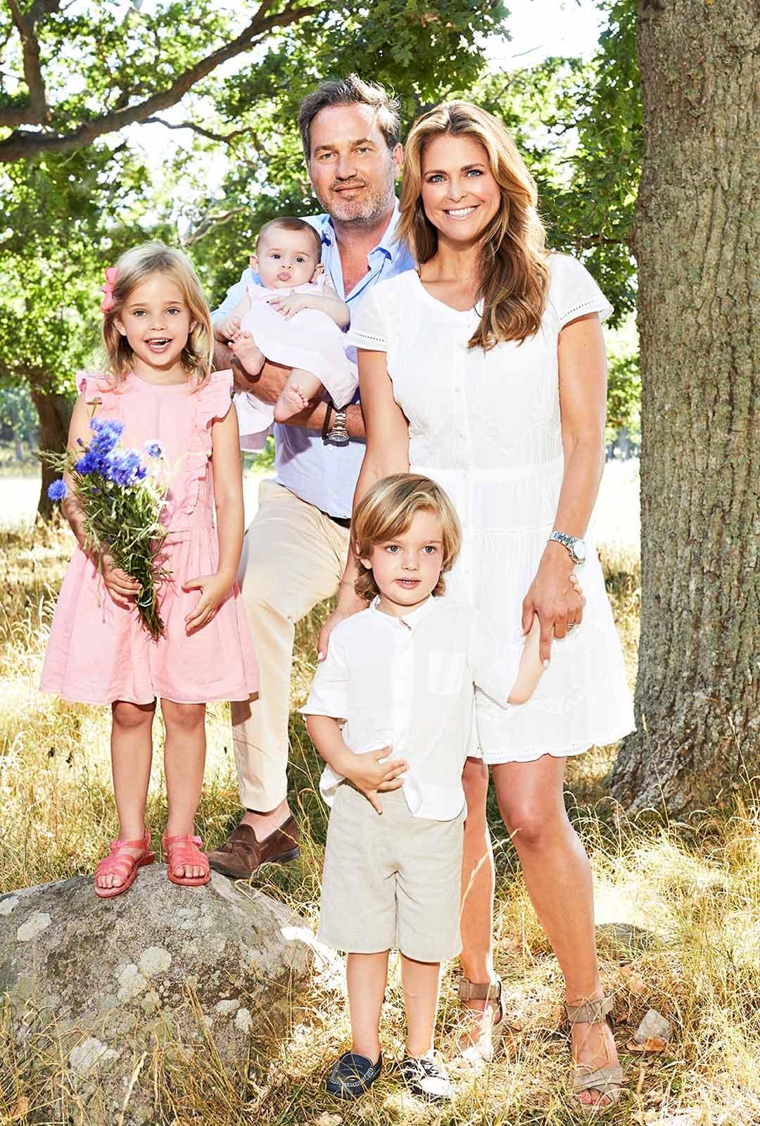 Prinsessa Madeleine ja perhe