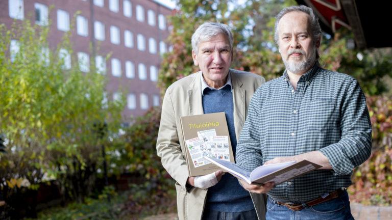 Titulointia-kirjan toimittaneet Hannu Teider ja Teppo Tiittanen.