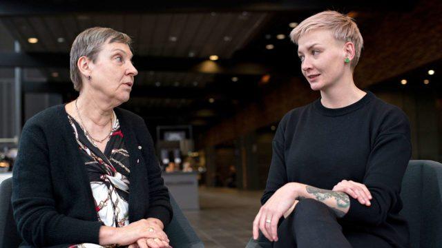 Kirjailija Anni Saastamoinen