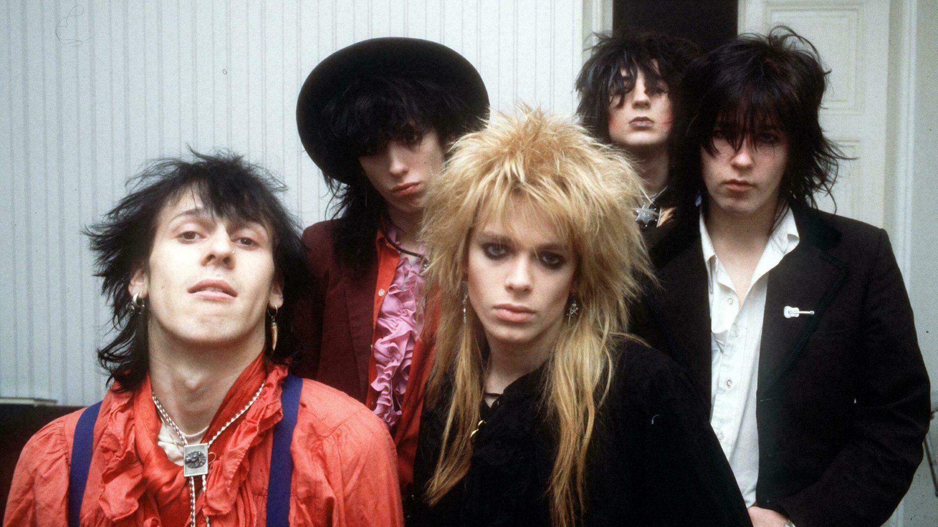 Hanoi Rocks vuonna 1983.