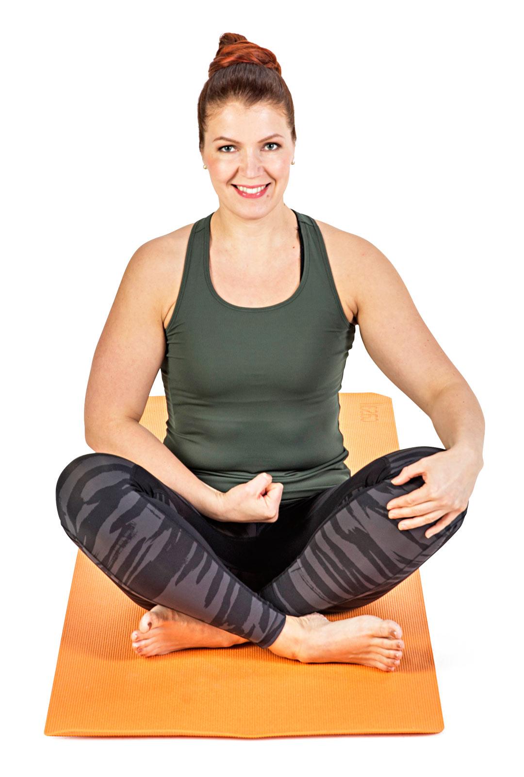 Tunnustele lihaksia kädellä istuinkyhmyn sisäpinnalta.