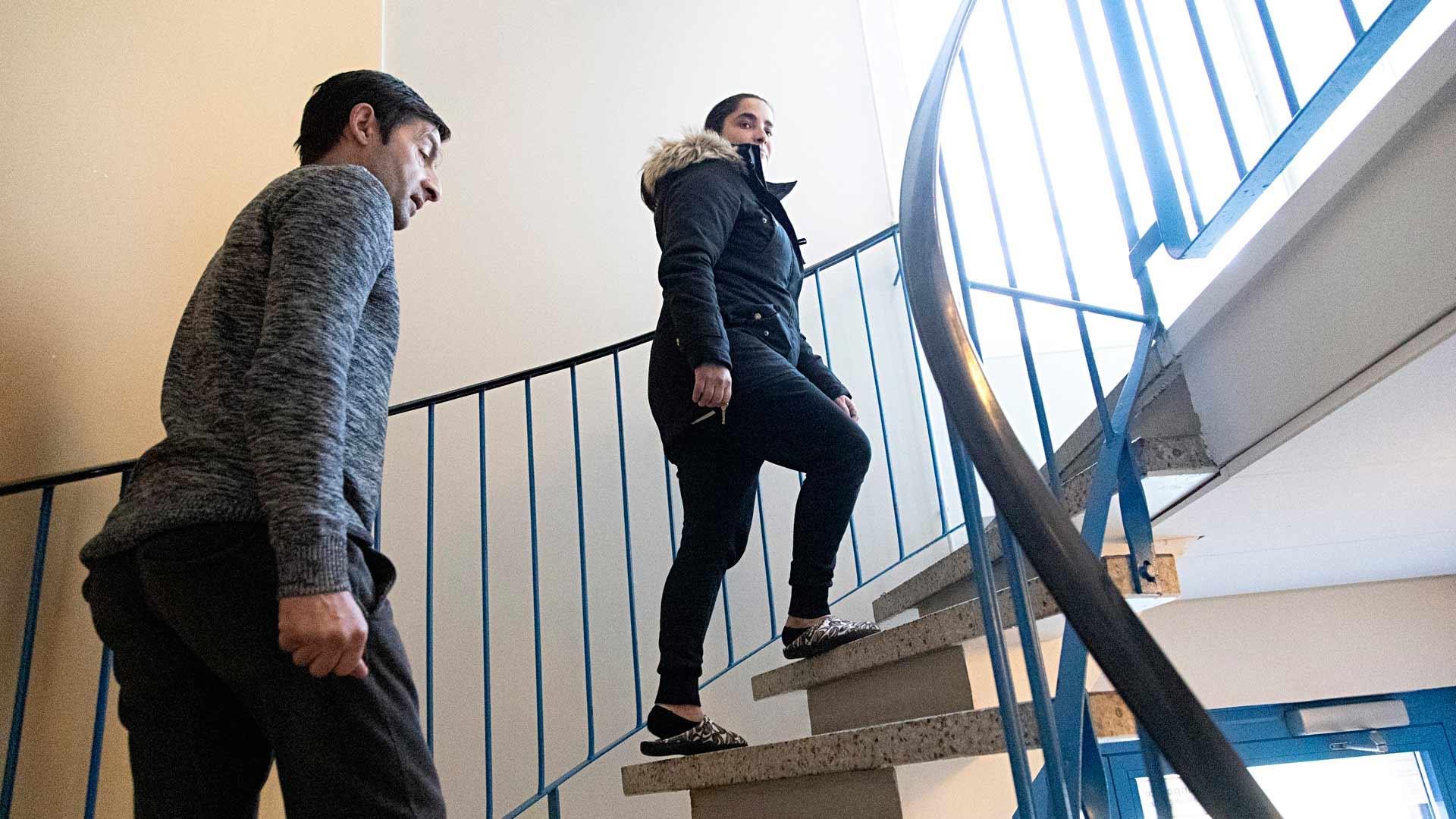 Lidia Borcoi, 31, ja Costel Plescan, 45, tapasivat Suomessa, Helsingin rautatieasemalla. Molemmat ovat olleet aviossa aiemminkin.