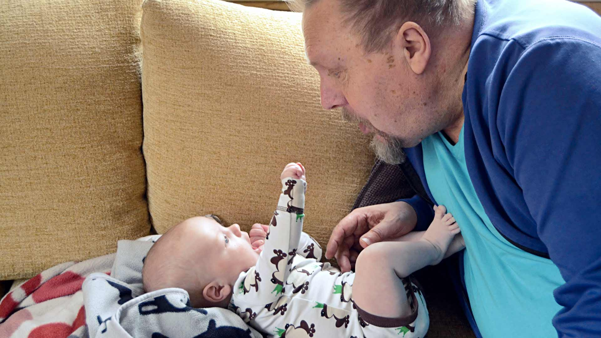 Kun Markku sairasti, tyttärenpoika Ilmari antoi vaarille voimia katsoa eteenpäin.