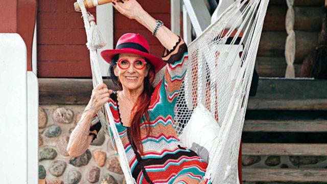 Aira Samulin, 92, on tanssialan legenda.