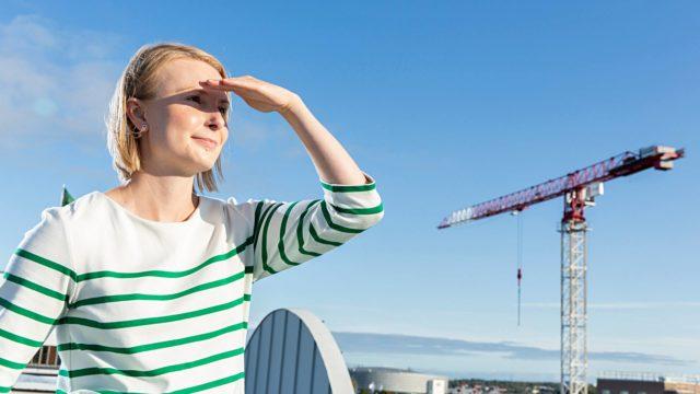Hanna Ollilan mielestä puhtaan hengitysilman tulisi olla lähtökohta jokaisessa tilanteessa.Hanna Ollilan mielestä puhtaan hengitysilman tulisi olla lähtökohta jokaisessa tilanteessa.