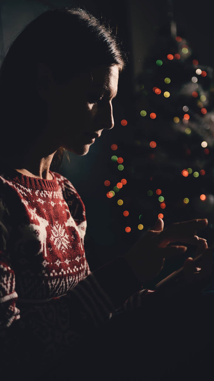 Joulunajan kriisipuhelinsoitoissa korostuvat yleensä yksinäisyys ja erilaiset ihmissuhde- ja perheongelmat.
