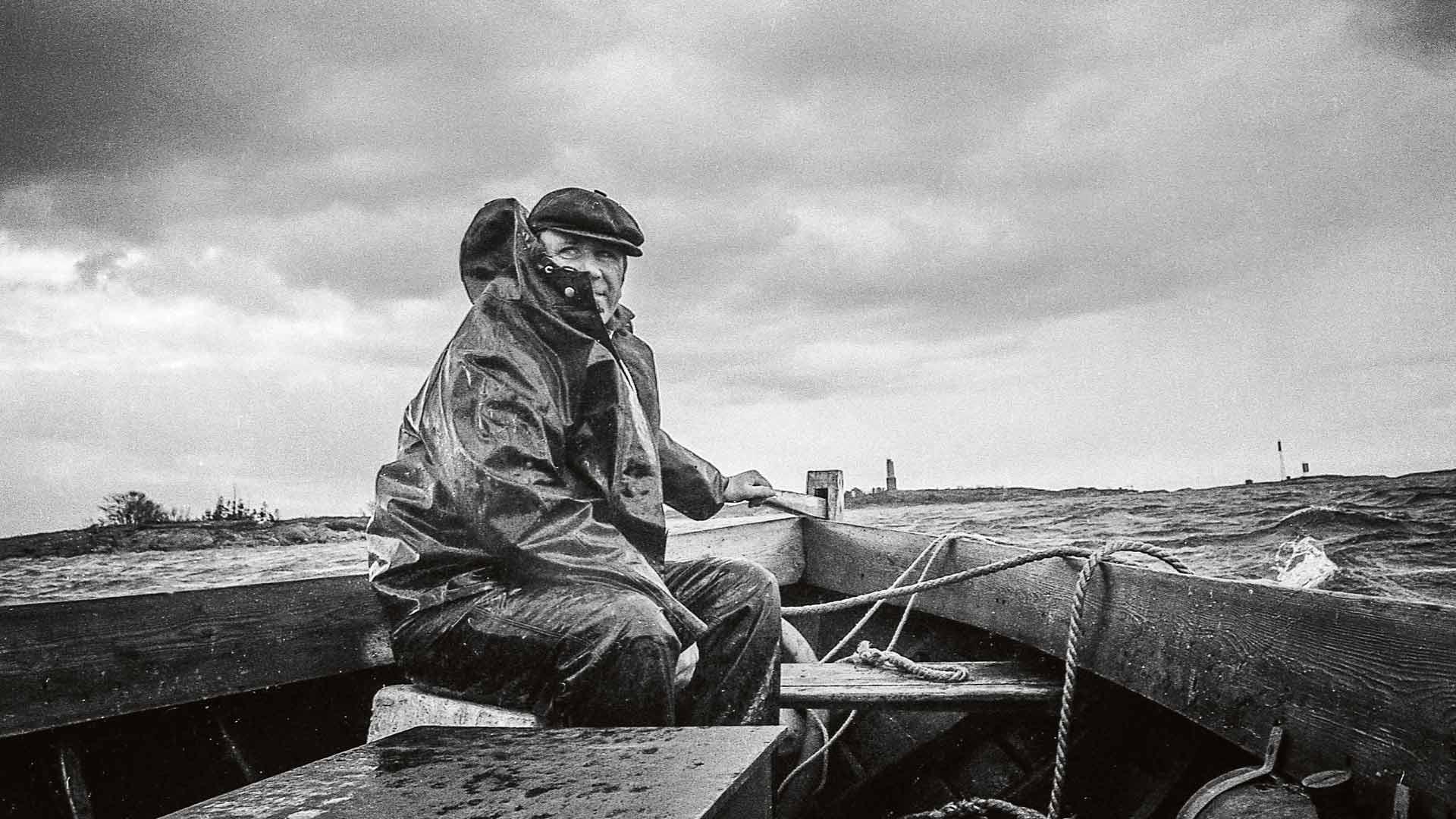 Ole Sundberg Porkkalan vesillä 1970-luvulla