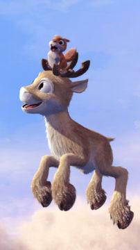 Niko uskoo isänsä olevan yksi Joulupukin Lentävistä Poroista.