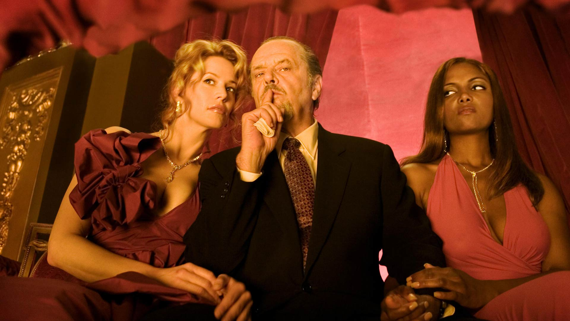 Jack Nicholson näyttelee rikollispomoa