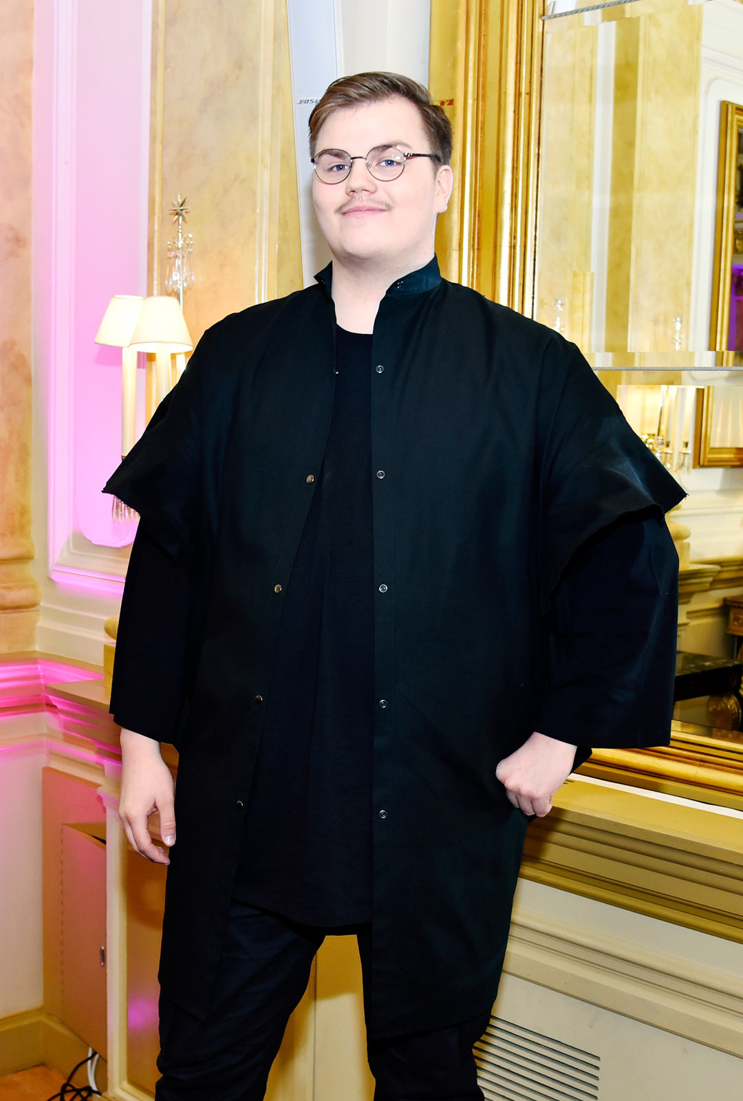 Laulaja Aksel Kankaanranta.