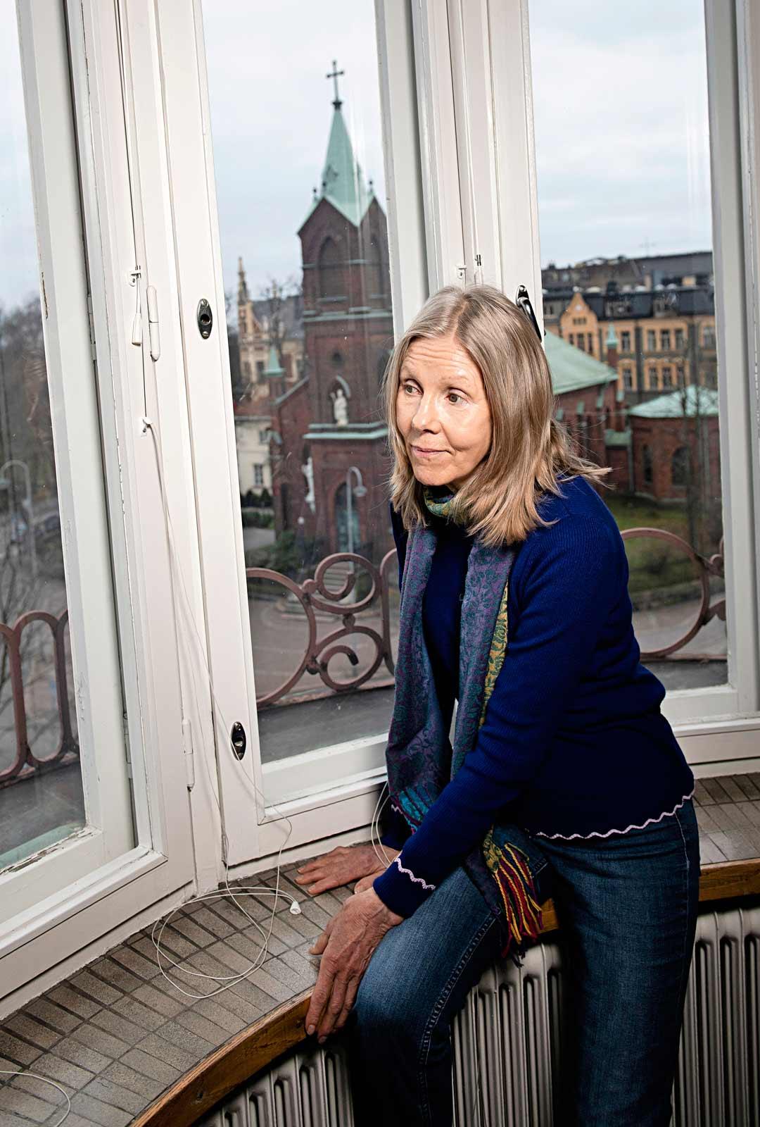 Flora Voionmaa de Noemi pestautui Suomen Punaisen Ristin kautta auttamaan Chilen pakolaisia vuonna 1973.