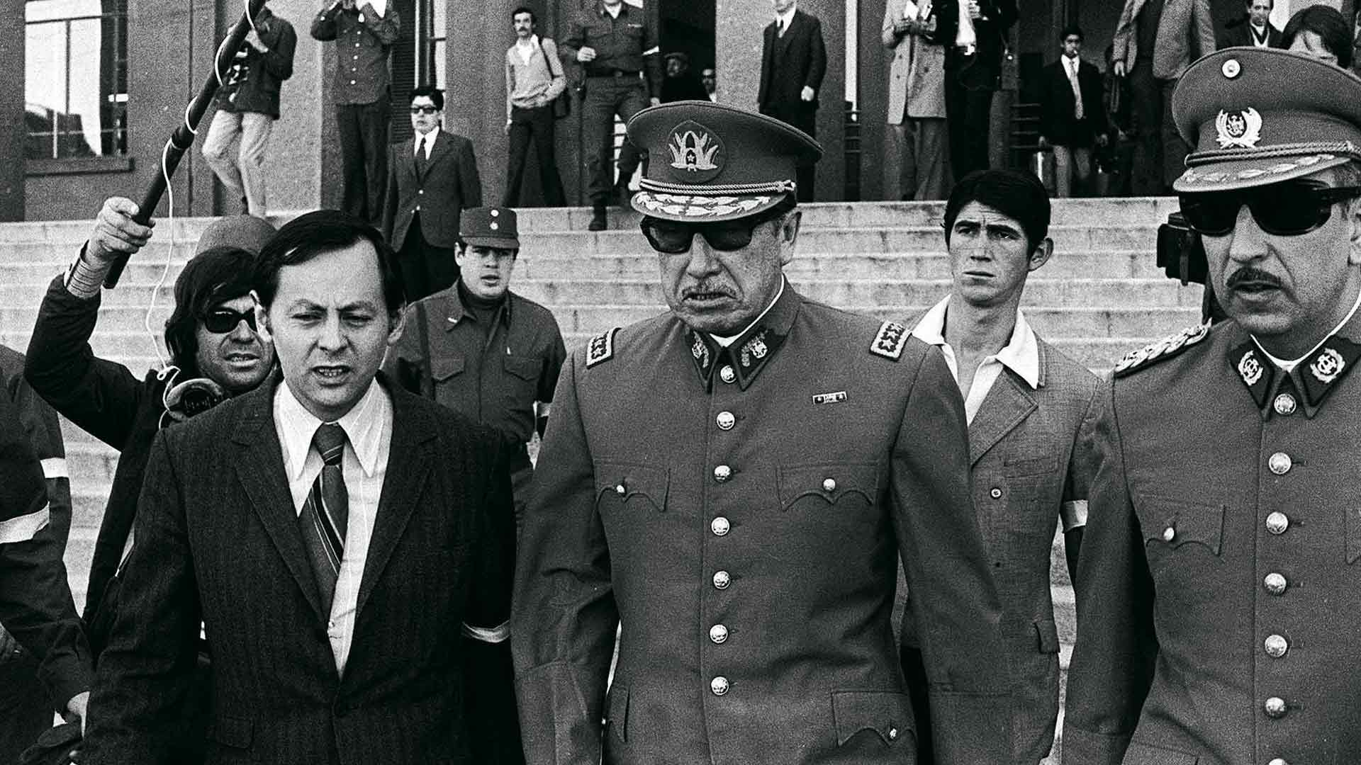 Augusto Pinochet kaappasi vallan Chilessä 11.9.1973.