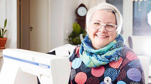 Kun Mirja Heinäsen uniapnea todettiin ja hän sai käyttöönsä ylipainemaskin, elämänlaatu parani. Nyt on taas energiaa käsitöillekin.