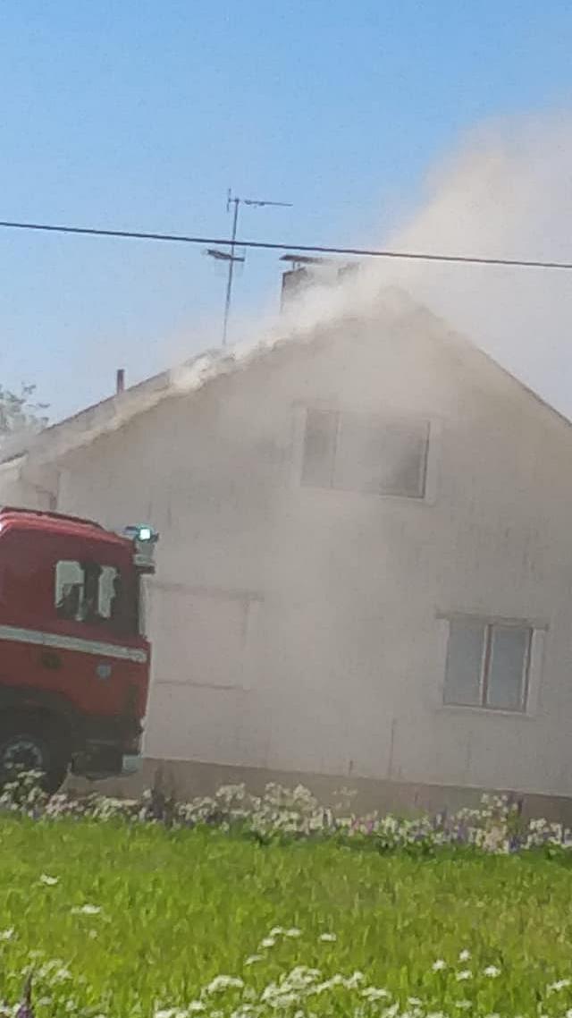 Ilarin omakotitalo paloi kesäkuussa 2018.
