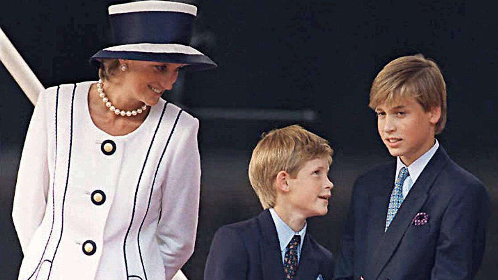 Prinsessa Diana tarjosi Harrylle ja Williamille hyvin onnellisen lapsuuden.