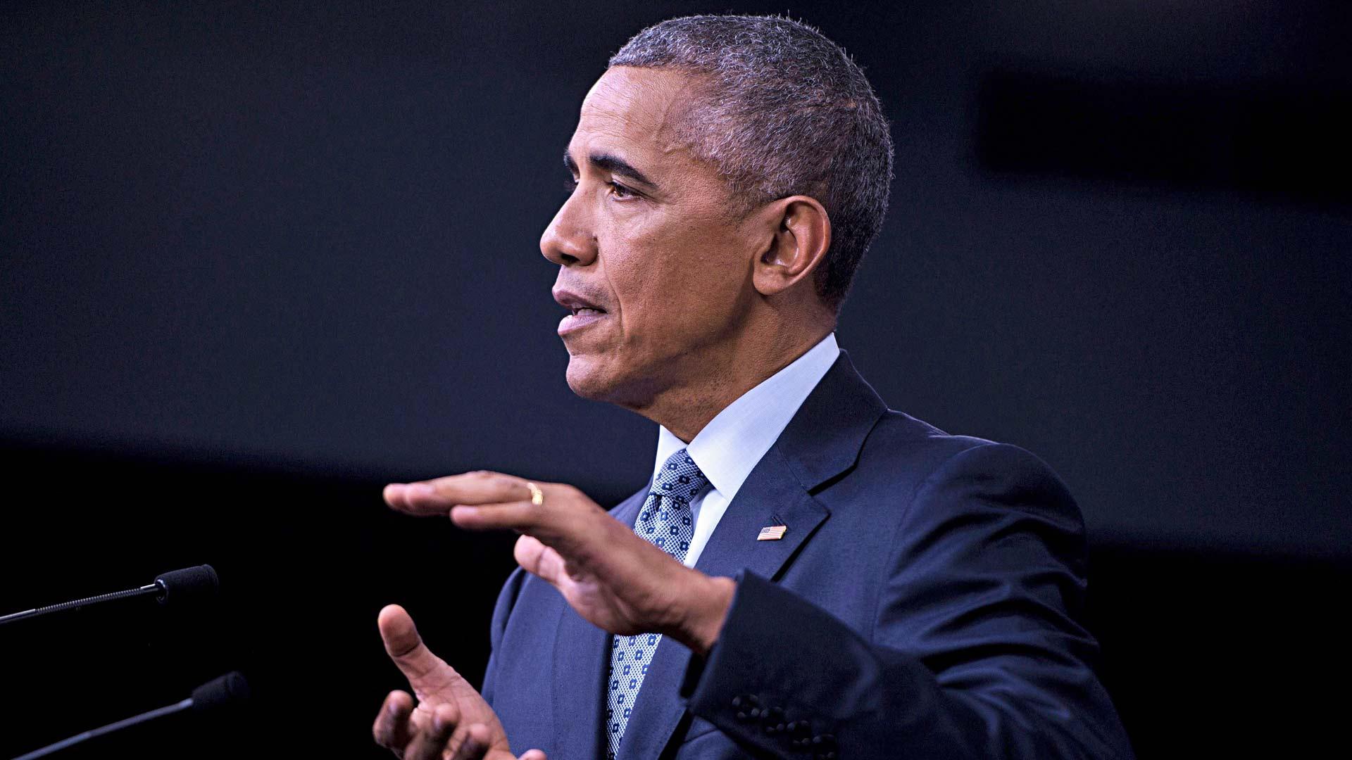 Yhdysvaltain ex-presidentti Barack Obama teetti puheitaan ammattilaisilla, vaikka oli itsekin taitava sanankäyttäjä.