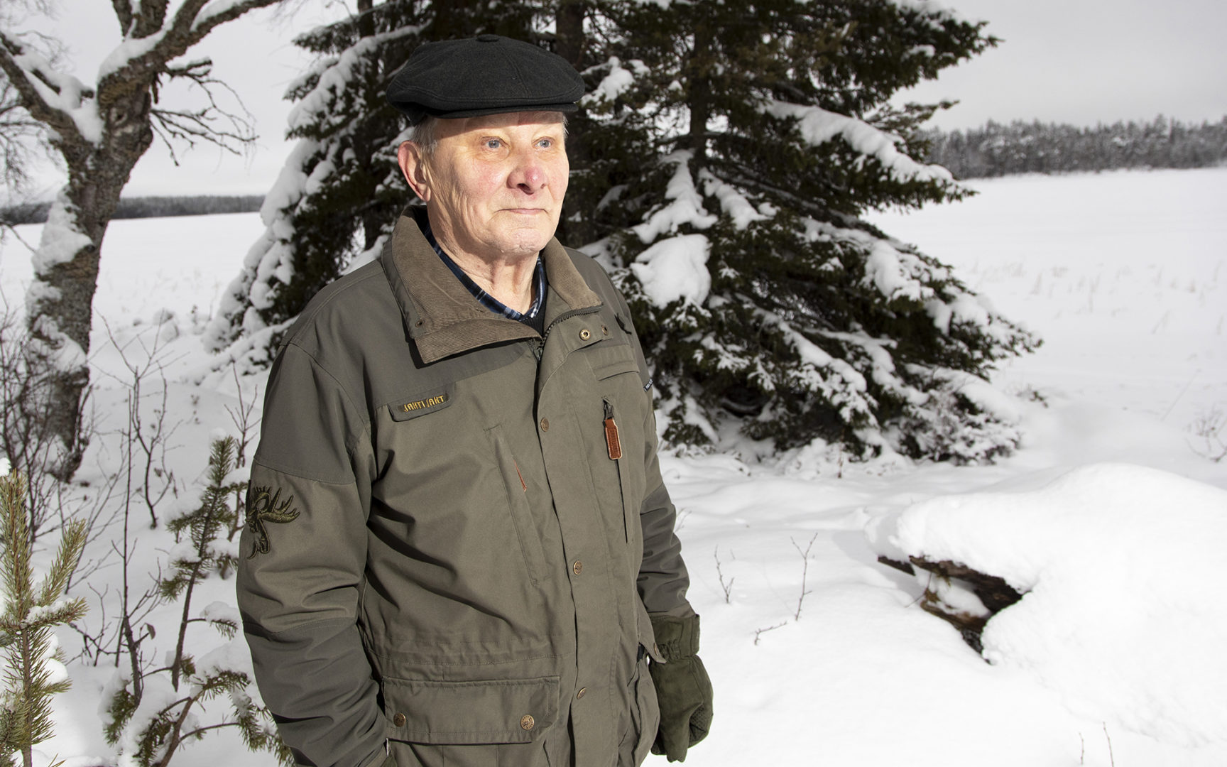 Ylirajavartija Antti Leivo paikalla, jossa hän pidätti neljä neuvostoloikkaria lähes puoli vuosisataa sitten