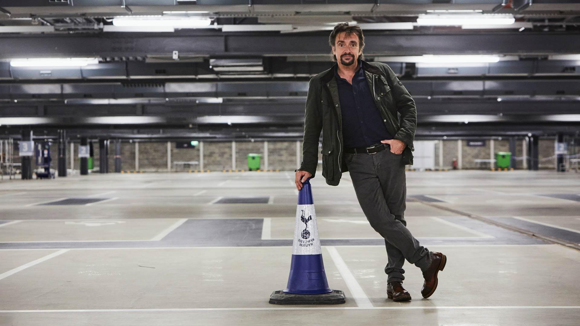 Richard Hammond on tuttu Top Gear -sarjasta.