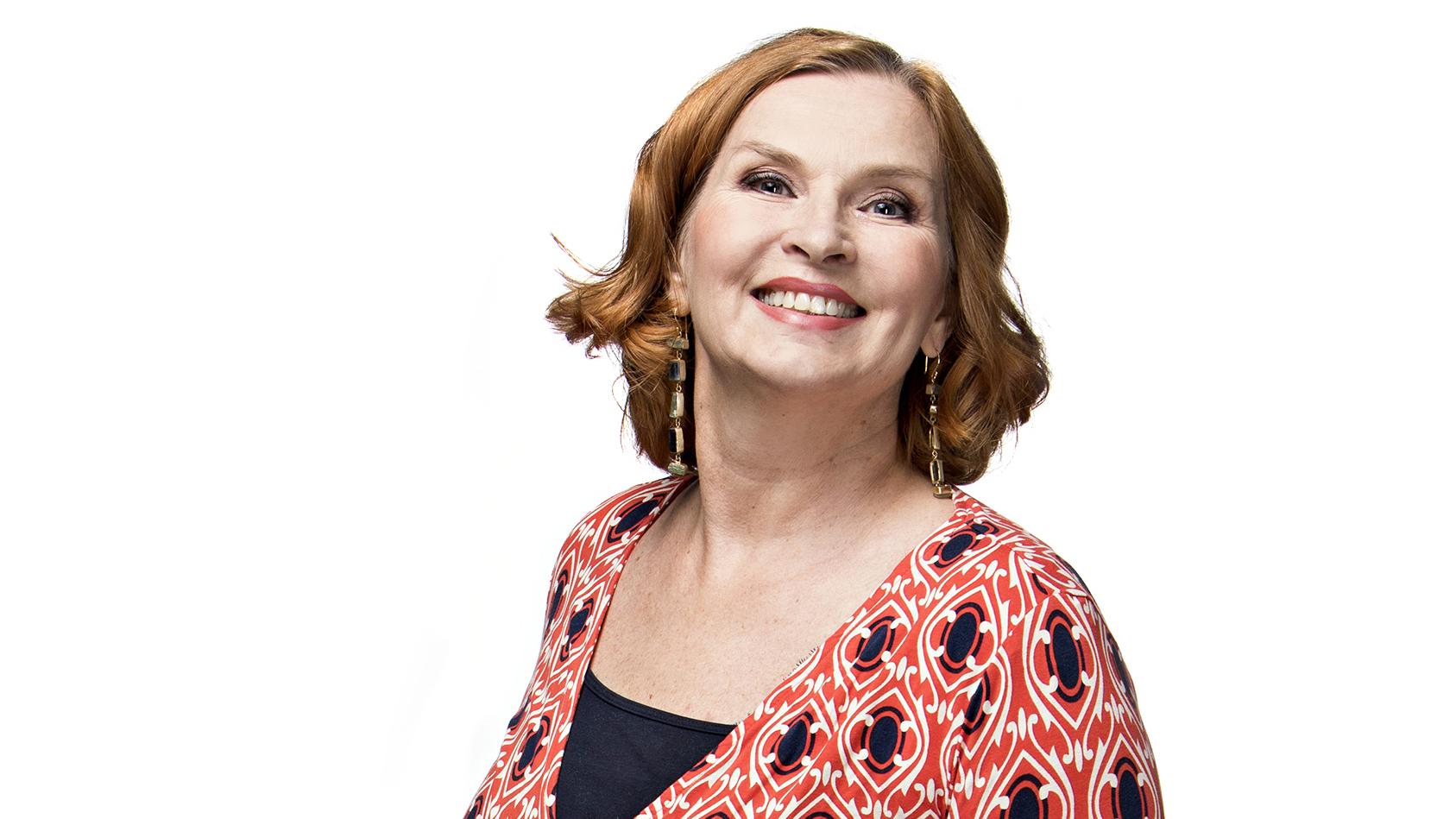Viva-lehden kolumnisti, näyttelijä ja vuorovaikutuskouluttaja Sari Havas.