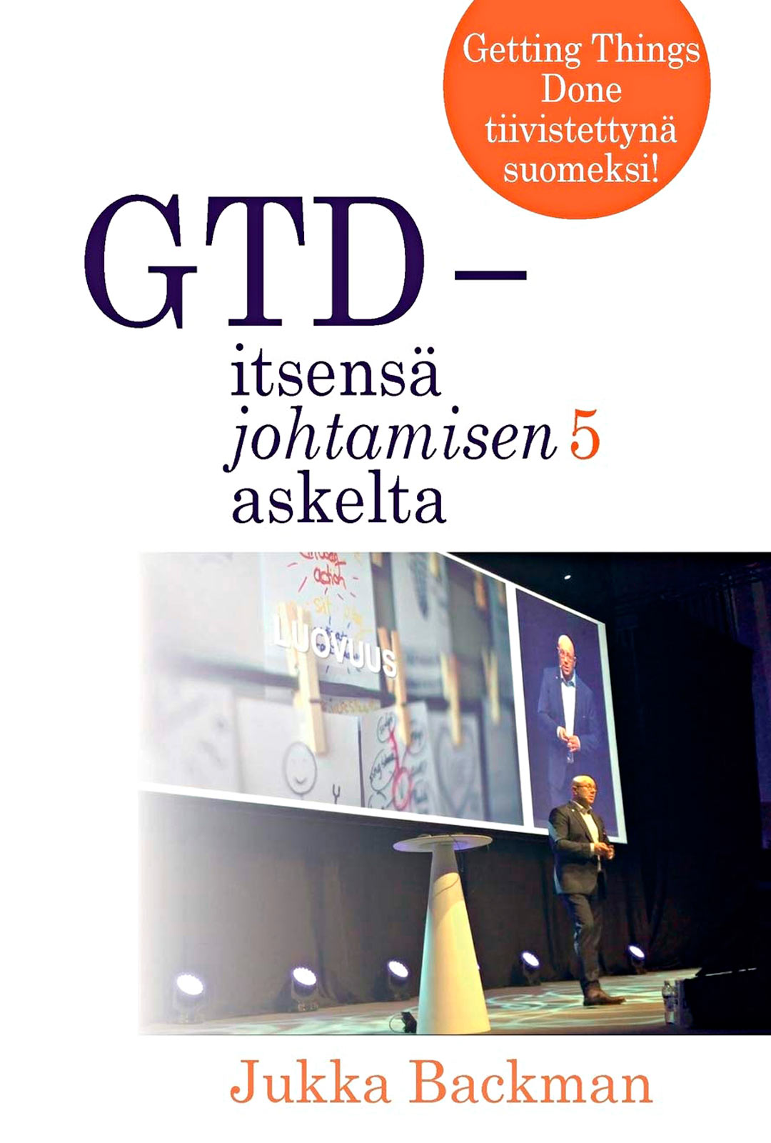 Työelämävalmentaja Jukka Backmanin omakustannekirja kertoo GTD-menetelmästä, jota kilpailija käyttää lähteenä.