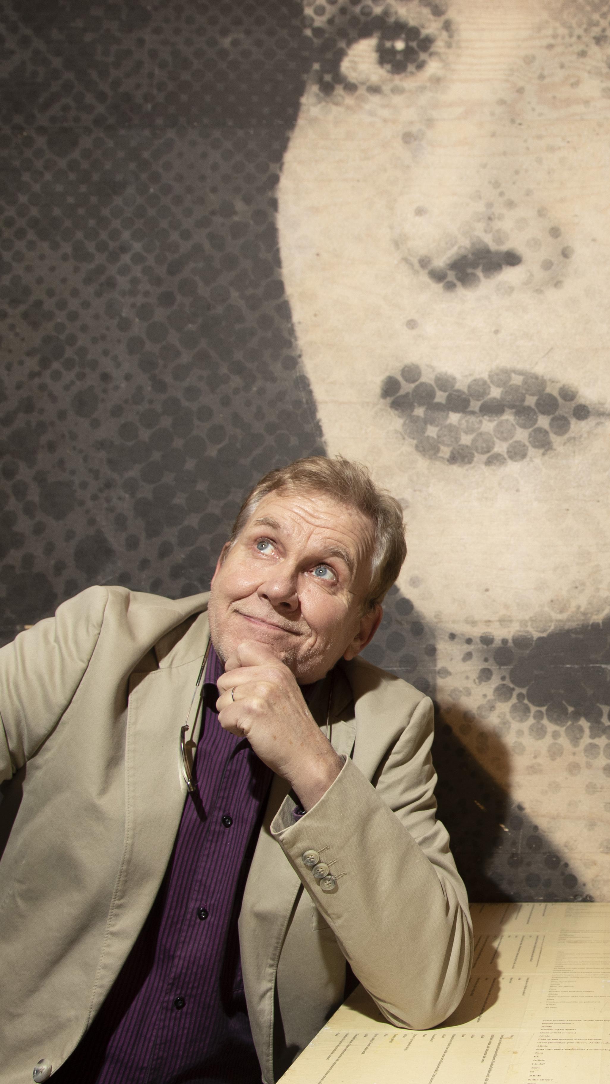Jarmo Heikkinen, 70, on intohimoinen kulttuurihai.