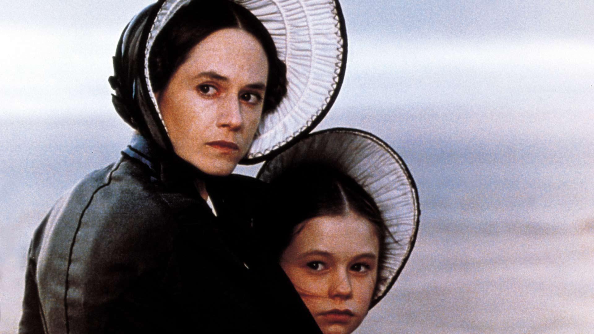 Holly Hunter ja Anna Paquin elokuvassa Piano.