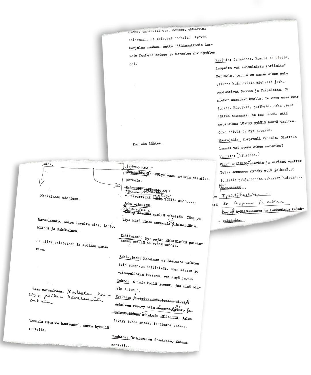 Donner piti Tuntemattomasta tehtyä 133-sivuista käsikirjoitusta sekä muistioita ja kirjeenvaihtoa visusti arkistoissaan pitkään hankkeen kuoppaamisen jälkeenkin.