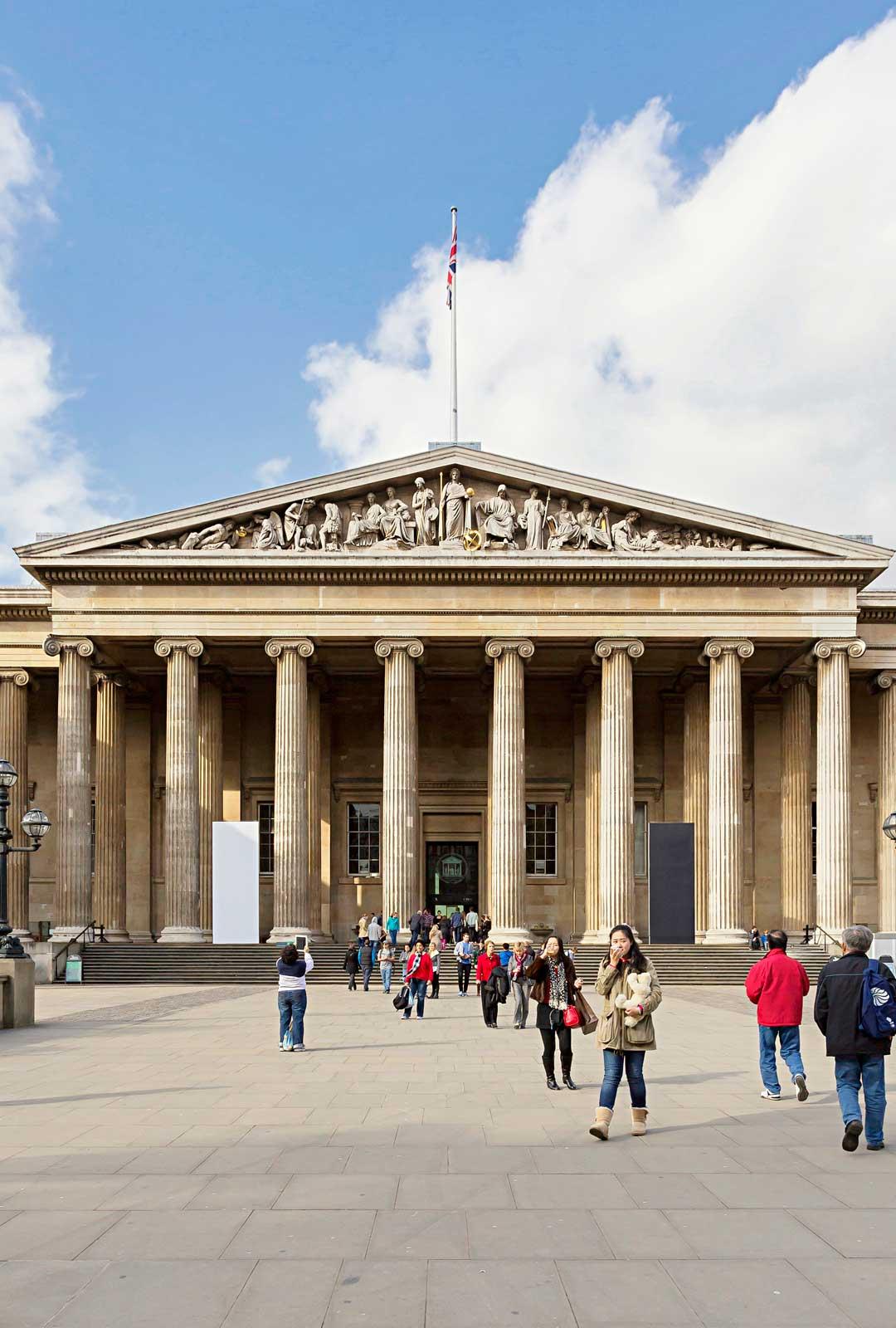 British Museum ei veloita mitään sisäänpääsymaksua.