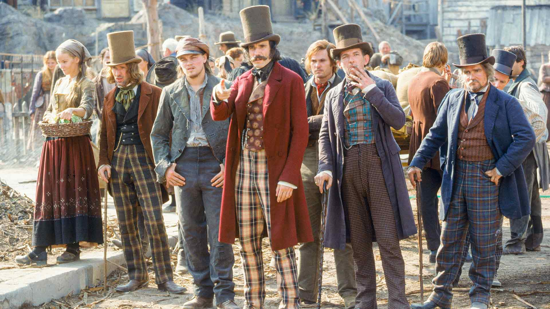Leonardo DiCapriolle Gangs of New York oli ensimmäinen monista yhteistöistä Martin Scorsesen kanssa.