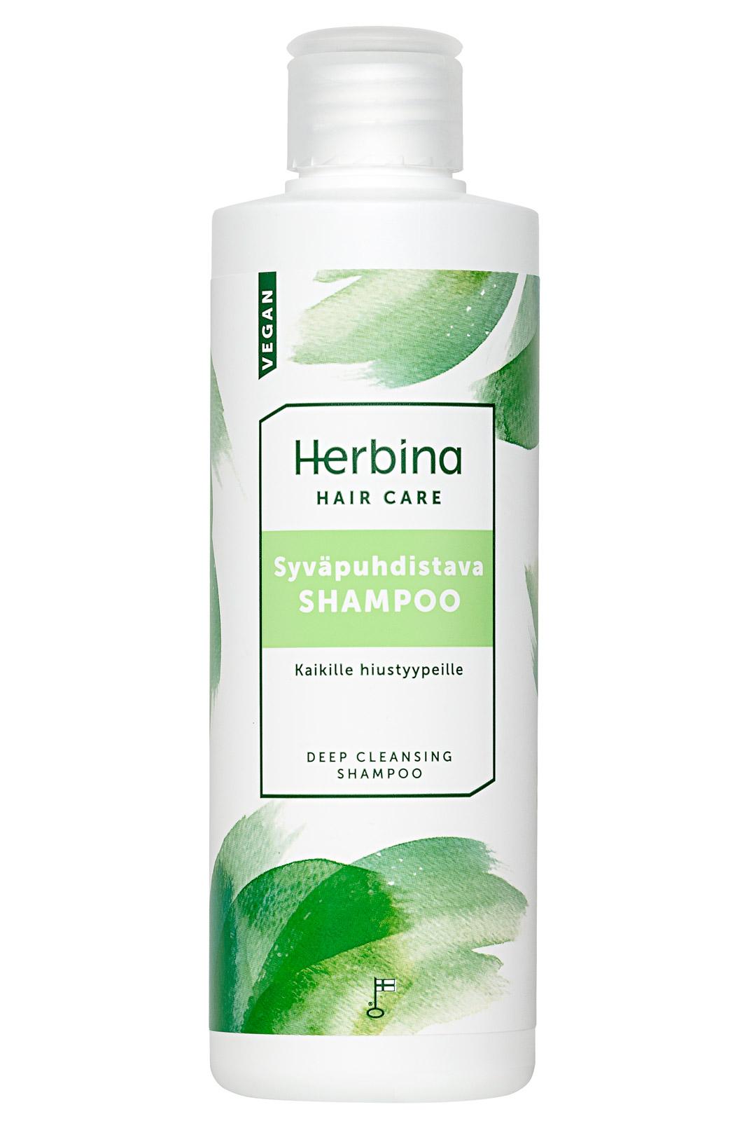 Herbina Syväpuhdistava sampoo
