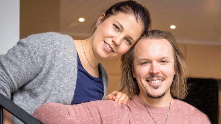 Teija Stormi ja Jukka Poika