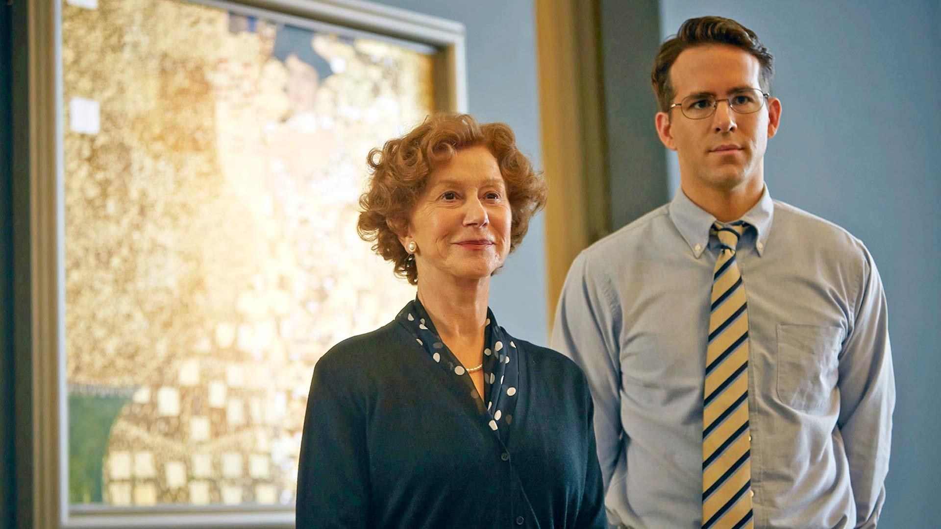 Helen Mirren ja Ryan Reynolds Kultainen nainen