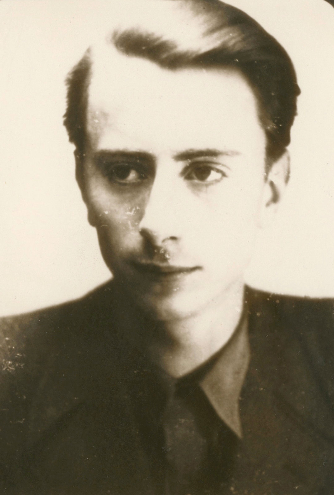 Suomessa lapsuus- ja nuoruusvuosiaan viettänyt Hubert von Blücher vuonna 1944.