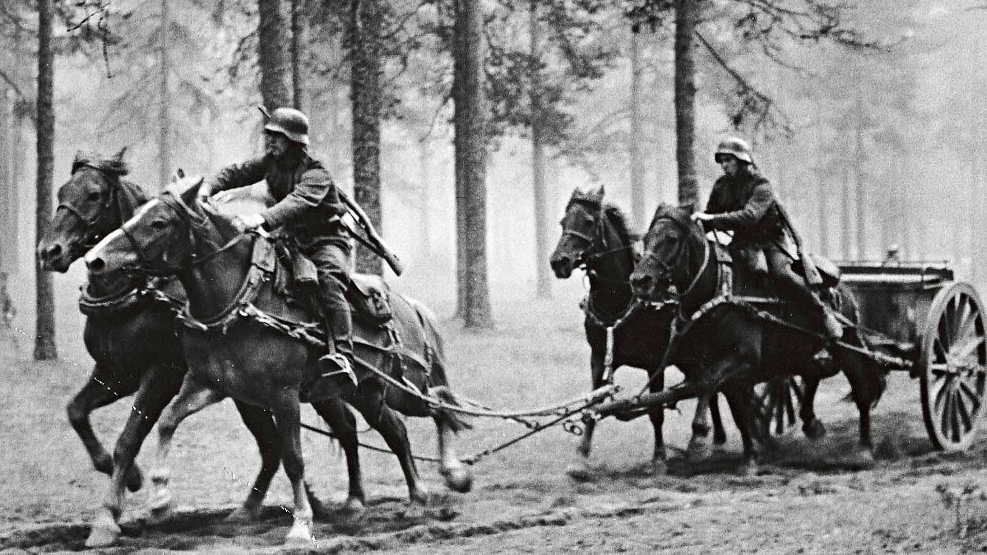Kankaanpään Seudun Tykistökillan ja Niinisalon Ratsastajat ry:n ratsastajat ovat vaalineet tykkivaljakkoperinnettä 1980-luvulta lähtien.