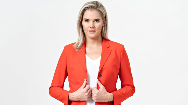 Sex Tape Suomi -ohjelman juontajana toimii Marja Kihlström.
