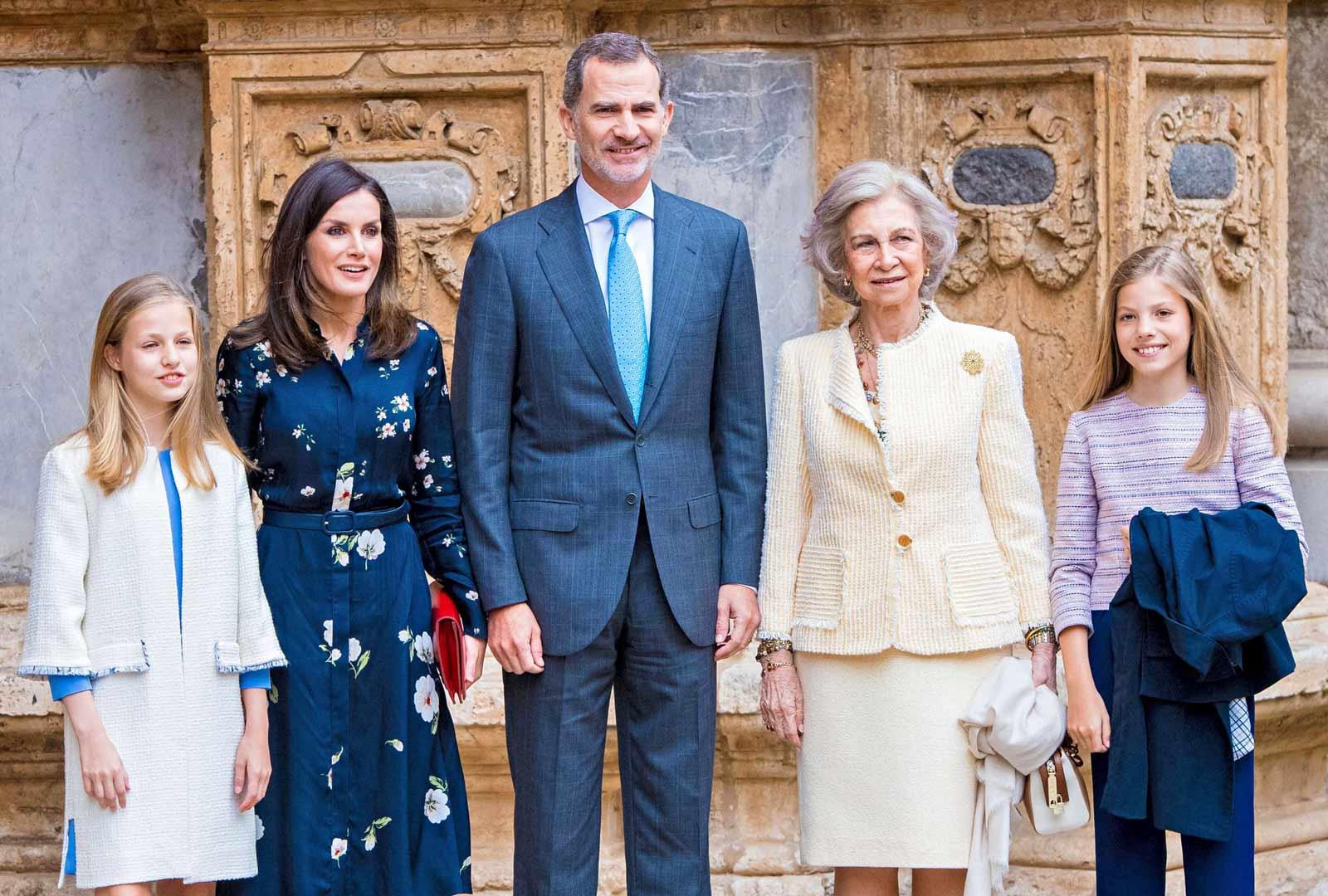 Kuningas Felipen serkku prinsessa Maria Teresa, 86, kuoli koronavirukseen maaliskuun lopussa.