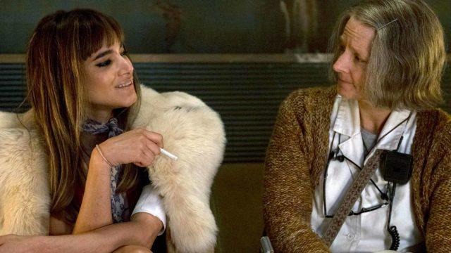 Kuvassa Nice (Sofia Boutella) ja The Nurse (Jodie Foster) elokuvassa Hotel Artemis.