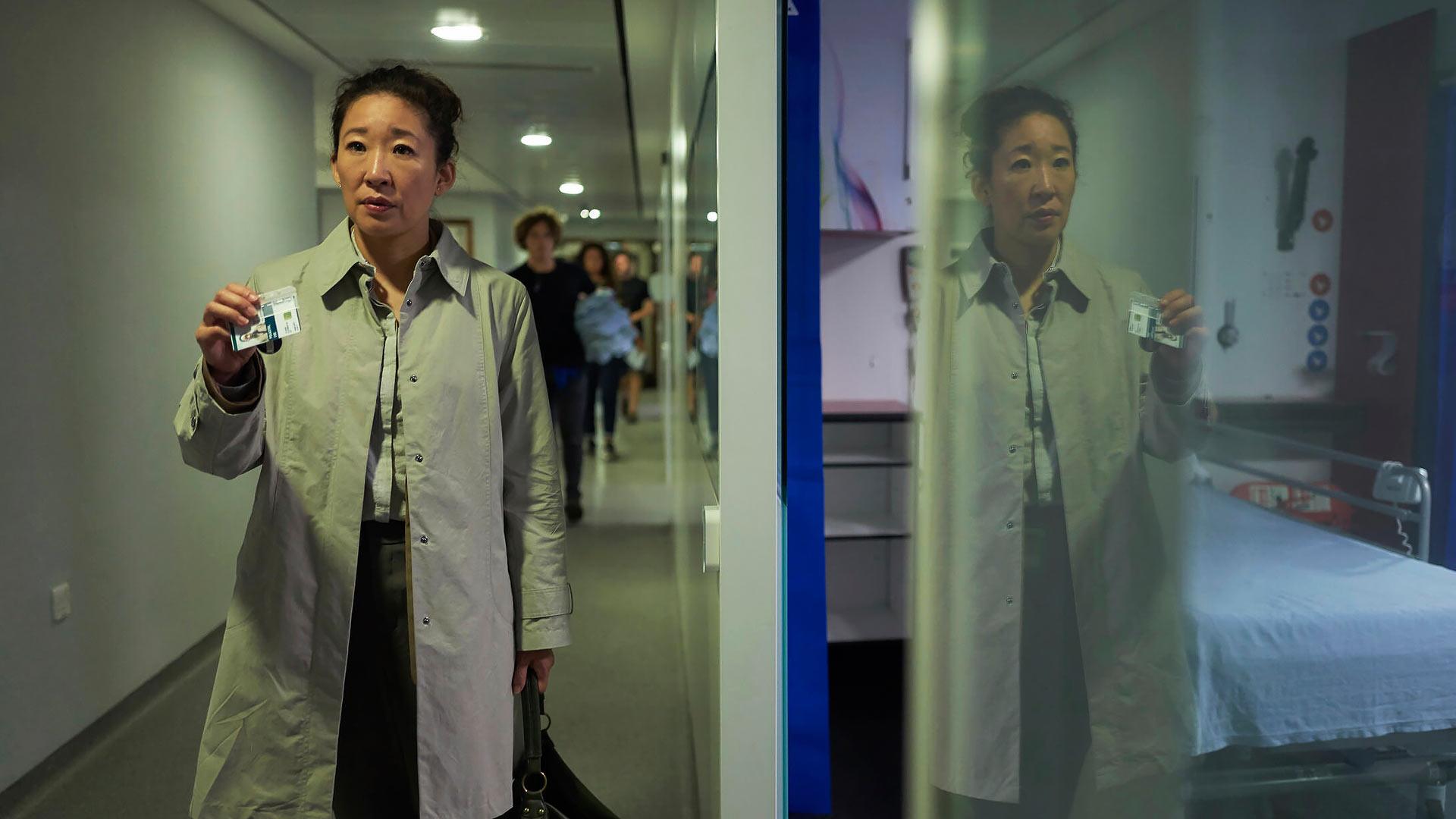 Greyn anatomiasta tuttu Sandra Oh näyttelee sarjassa Killing Eve.