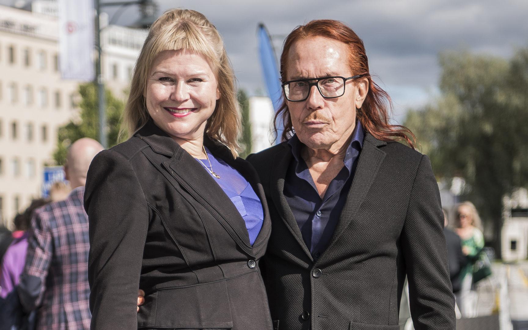 Kesäkuun alussa Mattiesko Hytönen ja puoliso Heidi Strömmer ovat olleet yhdessä jo 20 vuotta.